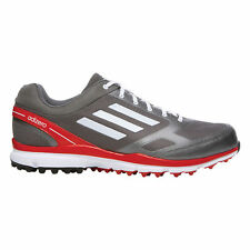 New Adidas 2014 Men's Adizero Sport II Golf Shoes - Silver/Red - Pick Size