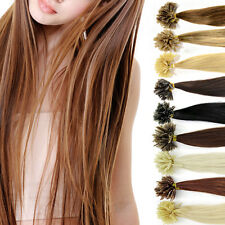 Pre Bonded Nail U Tip 100% Remy Human Hair Extensions US Lowest price