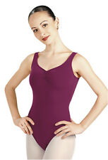 NEW! WOMENS BALLET TRADITIONAL SMALL LEOTARD. COLORS: WHITE & DARK GREEN (x7000)