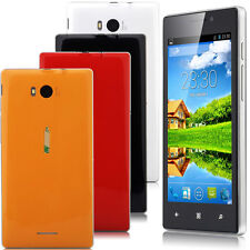 "4.5"" 3G Dual Sim Android 4.4 Smartphone Unlocked GSM AT&T Cell Phone 4 colors"