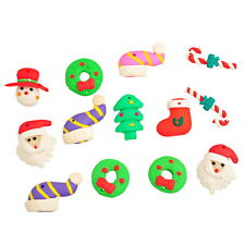 Wholesale Lots Mixed Polymer Clay Christmas Embellishment