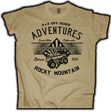 4x4 Off Road Adventure Expedition T-Shirt Jeep Explorer chevy SUV ATV Outdoor