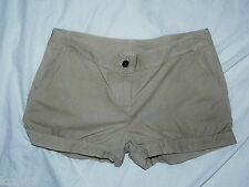 BNWT NEXT new Ladies Sexy Corduory shorts / hot pants in stone/beige/cream sizes
