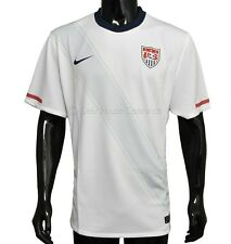New NIKE Authentic US Soccer National Team Mens Jersey Short Sleeve - White/Gray