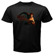New The Wolf Among Us Popular Video Games Men's Black T-Shirt Size S to 3XL