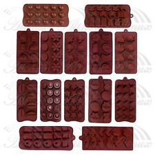 Button Star Heart Model Chocolate Cake Ice Soap Cube Tray Candy Silicone Mold