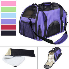 Small Pet Carrier OxFord Soft Sided Cat/Dog Comfort Travel Tote Shoulder Bag