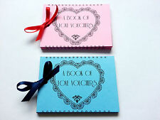 ROMANTIC PRESENT 23 LOVE VOUCHERS Coupons Book Valentine's Gift For Him and Her