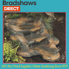 Rockways Rustic Slate Watercourse for garden pond. Choose waterfall only or Kit
