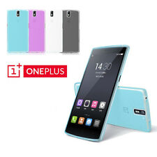 A0001 Ultra Thin Soft Silicone Matte Clear Case Cover Skin For OnePlus One + #3