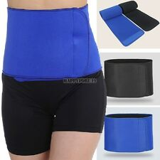 Men & Women Waist Trimmer Exercise Slimming Belt Burn Fat Weight Loss Body Belt