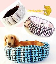 Pet Dog Cat Puppy Soft Polyester Warm Bed Best For Small To Medium Breeds