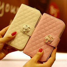 """Wallet Card Holder Leather Durable Flip Pouch Case Cover For Apple 4.7"""" iPhone 6"""