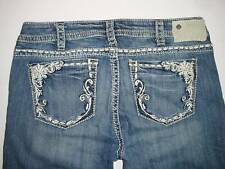 Silver Jeans TUESDAY Mid-Straight Mid-Rise Slim Hip Straight Fit L34  140913A