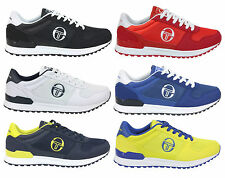 Men's Sergio Tacchini Metric Trainers Sneakers Pumps Retro Casual Lace Up Shoes