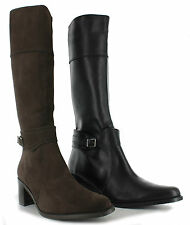 Duo Vienna Ladies Knee High Boots Available in Two Colours