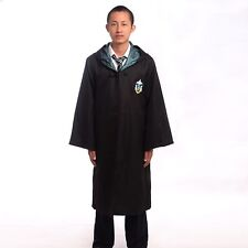 Nice Harry Potter Costume Slytherin Adult Cloak Robe Cape Christmas Party Gift