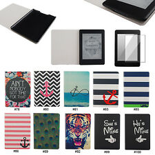 Lover Couple PU Leather Flip Case Cover For Amazon Kindle Paperwhite 1 2&3G Wifi