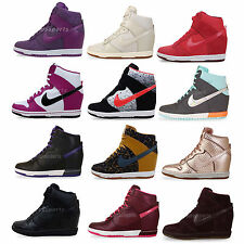 Nike Wmns Dunk Sky Hi Essential / Premium NSW Womens Wedges Casual Shoes Pick 1