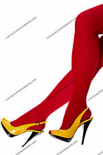 DANA 40 DEN MATTE TIGHTS WITH ELASTHANE  ELIZA  DARK RED