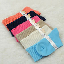 2PCS New Infant Baby Kids Boys Girls Pure Warm Middle Tube Wool Socks