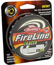 Berkley FireLine Tracer Smoke/Flame Green 125yds! CHOOSE SIZE