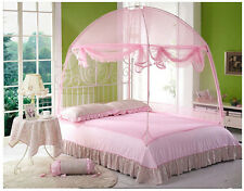 Hight QC Bed Canopy Mosquito Net Tent  For Queen Bed Size