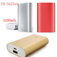 XIAOMI Power Bank 5200 mAh Portable Backup Battery USB Charger for Mobile Phone