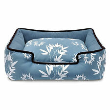Play Bamboo Blue Lounge Dog Bed