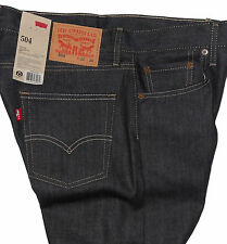 Levi's 504 Regular Straight Fit Jeans Rigid Envy #0059 ***Limited Quantity***