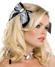 Brand New French Maid Choker And Matching Hair Bows - A1035