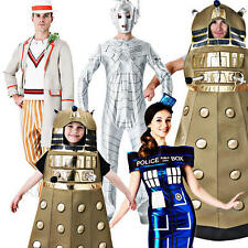Doctor Who Adults Fancy Dress Halloween Dalek Tardis Kids Childrens Costume New
