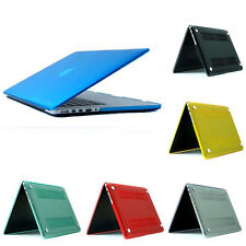 Clear Ultra Thin Rubberized Laptop Hard Case Cover For Apple Macbook 15.4 Pro
