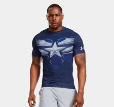Under Armour Men's Alter Ego CAPTAIN AMERICA WINTER SOLDIER Compression Shirt