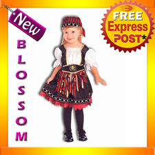 CK121 Lil Pirate Cutie Toddler Girls Book Week Halloween Fancy Dress Up Costume
