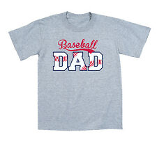 Baseball Dad Funny League Sports Home Run Father's Day Novelty Mens T- Shirt