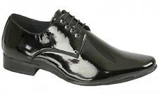Goor Mens M048 Black Patent Lace Up New Mens Wedding Leather Cheap Office Shoes