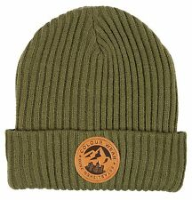 Colour Wear Badge Beanie Mens Unisex Ski Snowboard Winter Hat New 2015