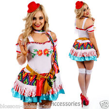 K17 Womens Mexican Mexico Tequila Princess Shooter Fancy Dress Party Costume
