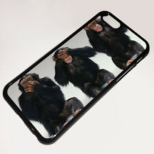 Cover for Apple iPhone 6  Monkey Funny Cute Evil Quirky Case q2128