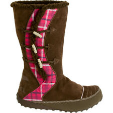 Sorel Youth Suka - New Girls Brown Snow Winter Boots Fashion Casual - Expresso