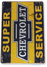 "TIN SIGN ""Chevrolet S-Service"