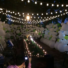 10m Waterproof 38 Balls LED String Lights Party Christmas Outdoor Decor US423