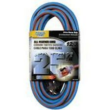 NIB 8/PACK POWER ZONE ORC530825 EXTENSION CORD 25' 12/3 ALL WEATHER AUTH DEALER