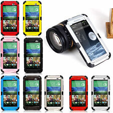 SHOCKPROOF WATERPROOF ALUMINUM GORILLA GLASS METAL CASE COVER FOR HTC ONE M8