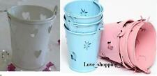 Tiny Feet New Baby Shower Party Christening FAVOUR PAILS Pink Blue White