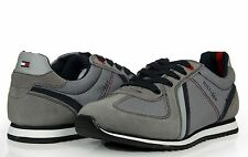 Tommy Hilfiger Men's Shoes Lace Up Sneakers Fairfield Gray