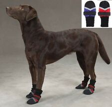 Fleece Lined Dog Boots, USA Seller, Water Repellent Protective Booties Shoes