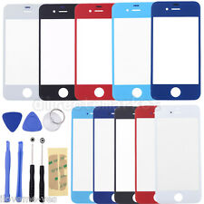 Front Outer Glass Touch Screen Lens Replacement For iPhone 4 4S 5 5S 5C+8 Tools