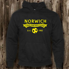 Norwich Football Fan Childrens Hoodie -- Canaries Present Clothing Boys
